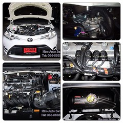 Vios แค๊ปซูล 58 ลิตร สามารถชมงาน ติดตั้งแก๊ส LPG ได้ที่ Nine Auto Service ลำลูกกา คลอง 6 โทร 084-9383802 http://www.facebook.com/nineautoservice.2011