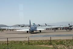 B-17 Sentimental Journey (twm1340) Tags: arizona flying sedona az b17 journey wright boeing sez fortress cyclone caf sentimental b17g r1820 4483514 n9323z