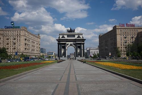 Triumphant Gate, Moscow ©  Still ePsiLoN
