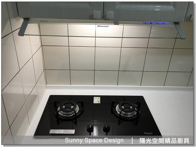 廚具│廚具大王│陽光廚具-永和永元路江小姐作品269-一字型廚具-陽光空間精品廚具