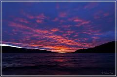 Sunset Lake Fryken (Palmius Photo) Tags: sunset sweden fryken