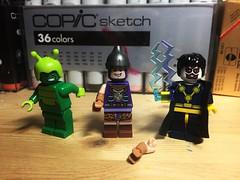 Random DC Stuff (LordAllo) Tags: lego dc ambush bug arm fall off boy static shock