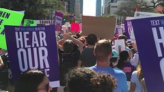 Women's March Austin - 100,000 strong (layla blackshear) Tags: womensmarchaustin womens march austin texas protest democracy rally marchonthecapital capital statecapital resist resistance neverthelessshepersisted thefutureisfemale notmypresident prochoice