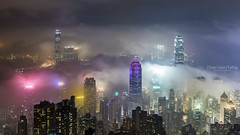 HongKong (TaiNg0415) Tags: hk 香港 霧 太平山
