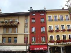 Windows in Bloom, Asiago (maxrevellation) Tags: windows flowers asiago vicenza veneto italia city street streetphotography italy