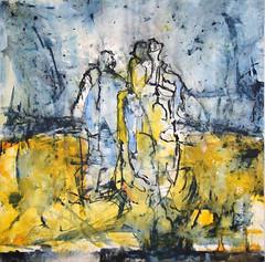 EINLETZTER SPAZIERGANG, 2017 (Marie Kappweiler) Tags: peintures paintings malerie toile canvas leinwand art kunst künstler künstlerin kappweiler acryl