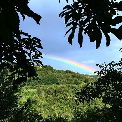 #groznjan #grisignana #rainbow #arcobaleno #istria #croatia