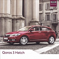 Qoros 3 Hatch brochure 2014 (sjoerd.wijsman) Tags: carbrochure brochure autobrochure prospekt folleto car cars auto voiture fahrzeug brochura opuscolo broschyr vehicle qoros 3 qoros3 2014