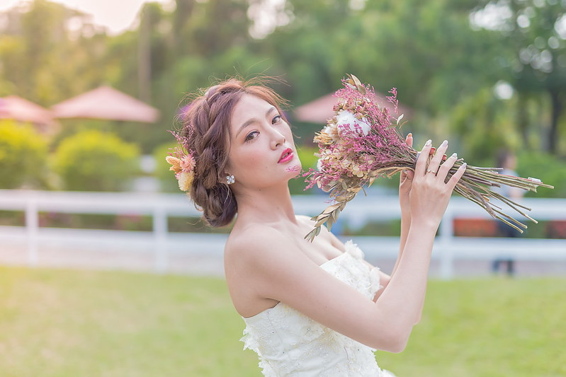 嘉義新秘,婚紗寫真, 新秘,白紗造型, 綠盈牧場