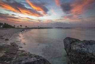 Caribbean Sea from Akumal, Mexico