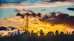 Sunset Little Sandhurst 20 March 2017 (2) (BaggieWeave) Tags: berkshire sandhurst littlesandhurst sunset atmospheric