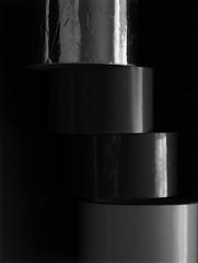 Tapes (Quijuka's Scrap World) Tags: celos tapes blackandwhite blancoynegro monocromático composition composición