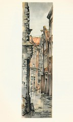 Anton Pieck- Bemin dan Amsterdam, 1948 ill  Oude Kerk steeg (janwillemsen) Tags: antonpieck amsterdam bookillustration 19451948