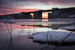 Floodway (David Flather) Tags: floodway winnipeg manitoba canada canadian flood sunrise ice melt cold