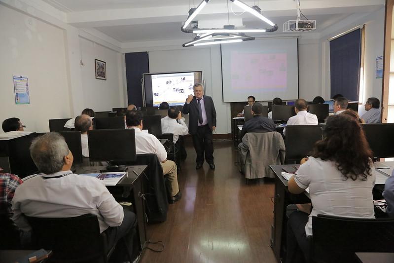 Curso de Gerencia Censal, a los Directores Departamentales y Jefes Regionales
