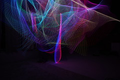 Light Painting (onewhoknocks) Tags: light painting long exposure dark night led el wire
