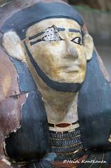 Mummy mask of Iyni (konde) Tags: mummymask ancient meir iyni ancientegypt art cairomuseum middlekingdom