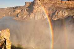 Rainbow at Shoshone Falls by Twin Falls, Idaho (Great Salt Lake Images) Tags: shoshonefalls snakeriver twinfalls idaho
