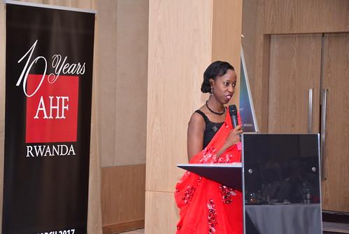 AHF Rwanda 10th Anniversary