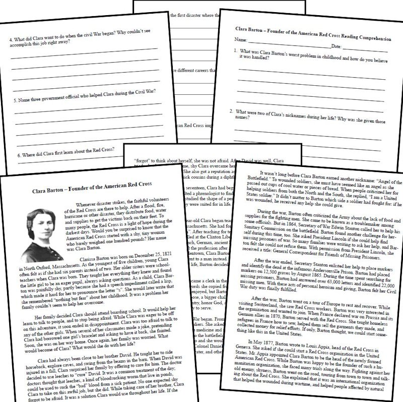 hist paper clara barton Free clara barton papers  it was after reading the articles in hist 247  - iintroduction this paper addresses whether we should censor or block access.
