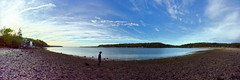 CSHL: Beach (Falcdragon) Tags: panorama usa newyork beach water sony hugin coldspringharbor cshl photoninja
