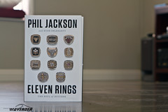ELEVEN RINGS (WaveRder) Tags: basketball book coach phil books pj nba lakers philjackson losangeleslakers basketballcoach headcoach elevenrings