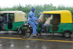 Lashing rain in Delhi (CSE Environment Photo Gallery) Tags: india delhi monsoon rainfall csepictures cseenvironmentphotogallery