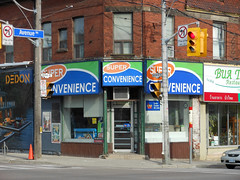 DSCN1955 v2 (collations) Tags: toronto ontario architecture documentary vernacular streetscapes builtenvironment cornerstores conveniencestores urbanfabric varietystores