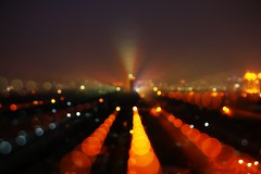 Bokeh City - Jakarta, Indonesia (Joe.Rock) Tags: city orange nightshot zoom fav50 bokeh fav20 jakarta mm tamron fav30 stepped zooming fav10 fav100 fav40 18250 fav60 fav90 fav80 fav70 cmwdorange cmwdweeklywinner