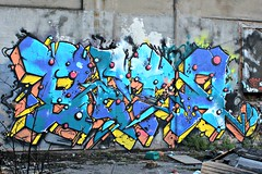 Liverpool (8333696) Tags: street blue urban streetart art st wall liverpool tin graffiti mural paint artist cyan can beta spray painter spraypaint graff aerosol