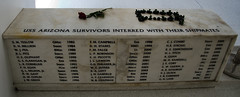 Returned to their Shipmates (deltaMike) Tags: usa hawaii memorial worldwarii pearlharbor usnavy survivor ussarizona