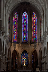 Saint-Germain-l'Auxerrois (Sergio Gomez!) Tags: city paris france church glass saint photography photo foto photographie gothic iglesia ciudad stained vitrail vitreaux francia glise gothique ville germain vitral fotografa gtico saintgermainlauxerrois auxerrois