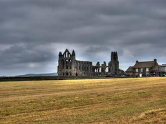 Whitby Abbey (Dissonancefalling) Tags: edited yorkshire whitby hdr whitbyabbey clevelandway