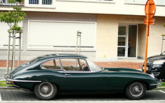 Jaguar E-type. (Tom Daem) Tags: knokke jaguar etype