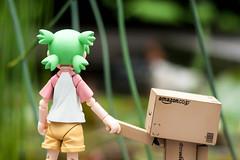 Hand in Hand (Pasc_Lightyear) Tags: anime garden toy outside sony manga figure dslr yotsuba danbo revoltech