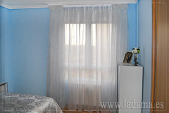 "Cortinas de organza dormitorio • <a style=""font-size:0.8em;"" href=""http://www.flickr.com/photos/67662386@N08/9194686952/"" target=""_blank"">View on Flickr</a>"