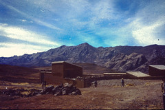 High Andean Plateau Views (JF Sebastian) Tags: road mountain children landscape bolivia buding scannedslide fromthebus rutaquetzal digitalized morethan100visits morethan250visits rutaquetzal1996 oldfilmautomaticcamera