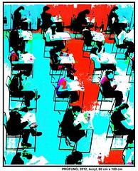 PRÜFUNG (CHRISTIAN DAMERIUS - KUNSTGALERIE HAMBURG) Tags: orange berlin rot silhouette modern deutschland see stillleben dock meer wasser foto fenster räume hamburg herbst felder wolken haus blumen menschen container gelb stadt grün blau ufer hafen fluss wald bäume schwarz bilder figuren landschaften stufen türen treppen mauern dächer gärten weis fläche wände acrylbilder acrylmalerei acrylgemälde bilderwerk auftragsbilder kunstausschreibungen kunstwettbewerbe auftragsmalereihamburg cdamerius hamburgerkünstler malereihamburg kunstgaleriehamburg galerieninhamburg acrylbilderhamburg virtuellegaleriehamburg acrylmalereihamburg