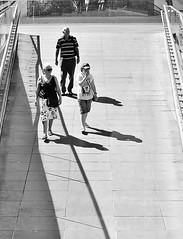 Crossing The Line (jaykay72(Away For A Week)) Tags: street uk blackandwhite bw london candid streetphotography southbank londonist stphotographia