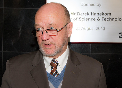 3M Innovation Centre launch - Derek Hanekom, Minister of Science and Technology