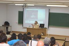 50 Curso de Cinematografa de la Universidad de Valladolid: Eva Gancedo (carlos.barrena) Tags: eva 50 uva curso gancedo cinematografa