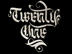 21 (Ink) Tags: lettering calligraphy blackletter inok