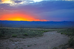 Change.... (HeilanSodger) Tags: sunset utah colorado trail change