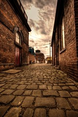 Back in Time (Twiggy's Photography) Tags: street old travel train back track industrial time derbyshire hill cobbles hdr chesterfield barrow