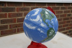 Planet Earth . . .Modelled 3 (Elsie esq.) Tags: painting globe model earth planet 1802000mm