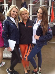 Stephanie Leanne Laura McBride & Sarah Widdowson (From Left to Right of Image) (Tanvir's Pics 2010) Tags: laura sarah babe silverstone stephanie leanne circuit tyres mcbride trax towcester maxxis widdowson 2013 silverstonecircuit uploaded:by=flickrmobile flickriosapp:filter=nofilter