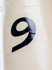 NINE (ceeko) Tags: england london unitedkingdom nine 9 neuf neun 2013 olympusem5