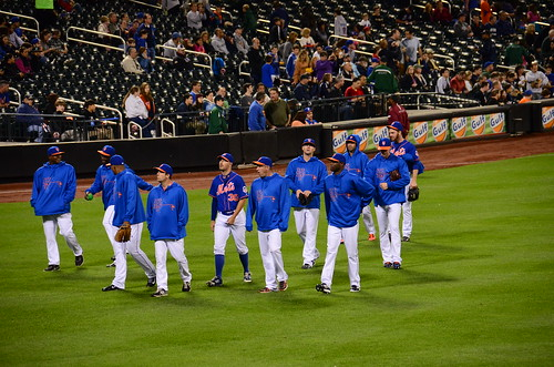 Mets Pitchers Heading To The Bullpen by slgckgc, on Flickr