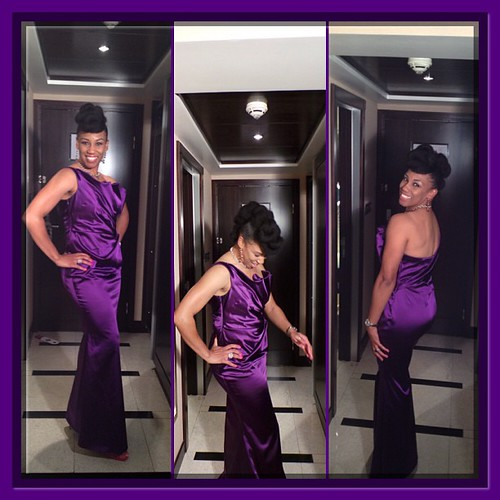 My Look for the Oasis of Kuwait Joint Potentate Ball  #naturalhair #naturalhairupdo #NaturalHairRocks look inspired by #TeonaParis via #MsVaughnTV's #YouTube channel #InstaFramePlus #lhdc #purple #DesertGlam in #Kuwait #K8 #q8 #naptural #natural #naturalh