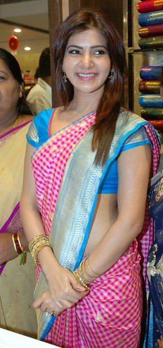 Famous Tollywood Actress SAMANTHA during the inauguration of